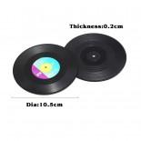 Σουβέρ Retro Vinyl Σετ από 6