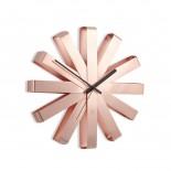 Ρολόι Τοίχου Ribbon (Χάλκινο) - Umbra