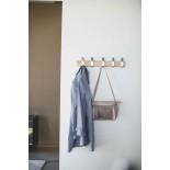 Κρεμάστρα Τοίχου Rin Φυσικό Ξύλο / Αλουμίνιο Yamazaki