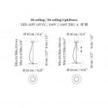 Κρεμαστό LED Φωτιστικό Οροφής BlancoWhite D1 / D2 - Santa & Cole