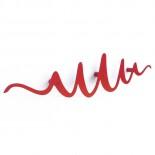 Κρεμάστρα Τοίχου Scribble (Κόκκινο) - HeadSprung
