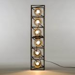 Φωτιστικό Οροφής / Επιδαπέδιο Φωτιστικό Multilamp Line (Μαύρο) - Seletti