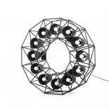 Κρεμαστό Φωτιστικό Οροφής Multilamp Ring (Μαύρο) - Seletti