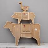 Πολυμορφικό Έπιπλο Αγελάδα Sending Animals - Seletti