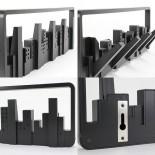 Κρεμάστρα Τοίχου Skyline (Μαύρη) - Umbra