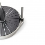 Βάση για Ρολό Κουζίνας Spin Click N 'Tear Μαύρο/ΝίκελUmbra