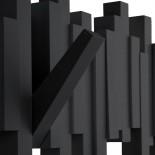 Κρεμάστρα Τοίχου Sticks (Μαύρο) - Umbra