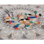 Σουβέρ Table Tiles Σετ των 6 Μαύρο / Μπεζ Areaware