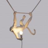 Φωτιστικό Τοίχου The Monkey Swing Λευκό Seletti