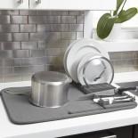 Αναδιπλούμενη Πιατοθήκη / Στεγνωτήριο Πιάτων Udry (Γκρι) - Umbra