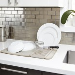 Αναδιπλούμενη Πιατοθήκη / Στεγνωτήριο Πιάτων Udry (Μπεζ) - Umbra
