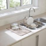Αναδιπλούμενη Πιατοθήκη Udry Over the Sink Μπεζ Umbra