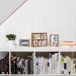 Πολυκορνίζα Τοίχου & Επιτραπέζια Edge Multi Desk (Φυσικό Ξύλο) - Umbra