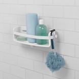 Ράφι Μπάνιου με Βεντούζες Flex Gel Lock (Λευκό) - Umbra