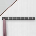 Κρεμάστρα Τοίχου FLIP με 8 Γάντζους (Γκρι) - Umbra