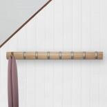Κρεμάστρα Τοίχου FLIP με 8 Γάντζους (Φυσικό Ξύλο) - Umbra
