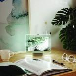 Κορνίζα GLO με Φωτισμό LED Μικρή 13 x 18 εκ. (Ασημί) - Umbra