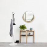 Στρόγγυλος Καθρέφτης Τοίχου Mira (Φυσικό Ξύλο) - Umbra