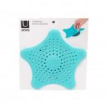 Σχάρα Υδρορροής για Τρίχες Starfish (Μπλε) - Umbra