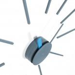 Ρολόι Τοίχου Urchin (Γκρι/Μπλε) - KLOX