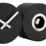 Ρολόι Τοίχου Duo Cuckoo (Μαύρο) - Karlsson