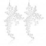 Σκουλαρίκια Waterweeds M (Ασημί) - Moorigin