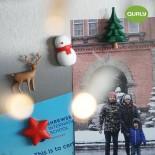 Χριστουγεννιάτικα Μαγνητάκια Winter Wonder Σετ των 4 Qualy