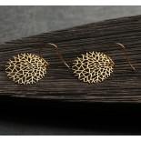 Σκουλαρίκια Woods S (Χρυσό) - Moorigin