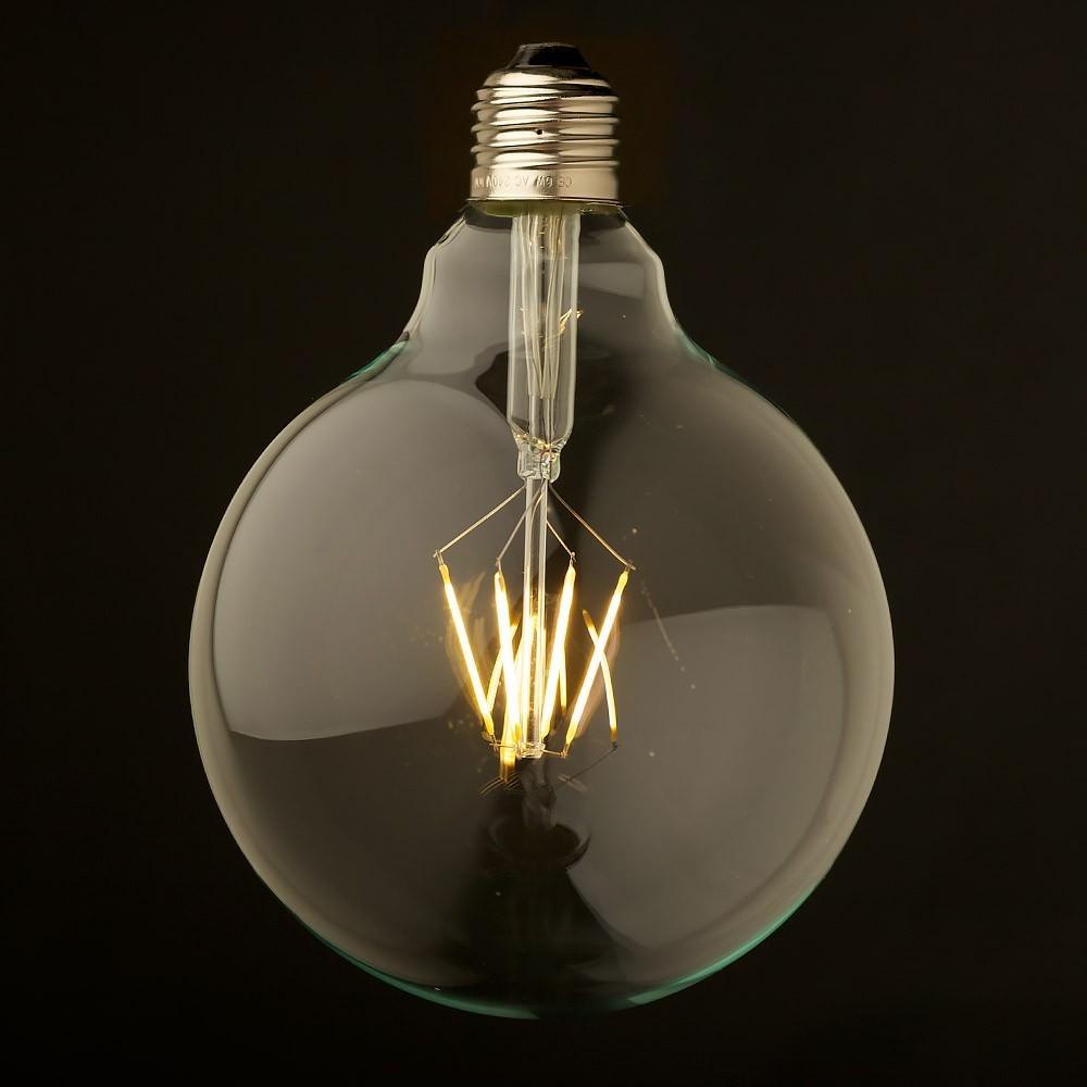 g125 dimmable vintage led e27 round bulb 4 watt design. Black Bedroom Furniture Sets. Home Design Ideas