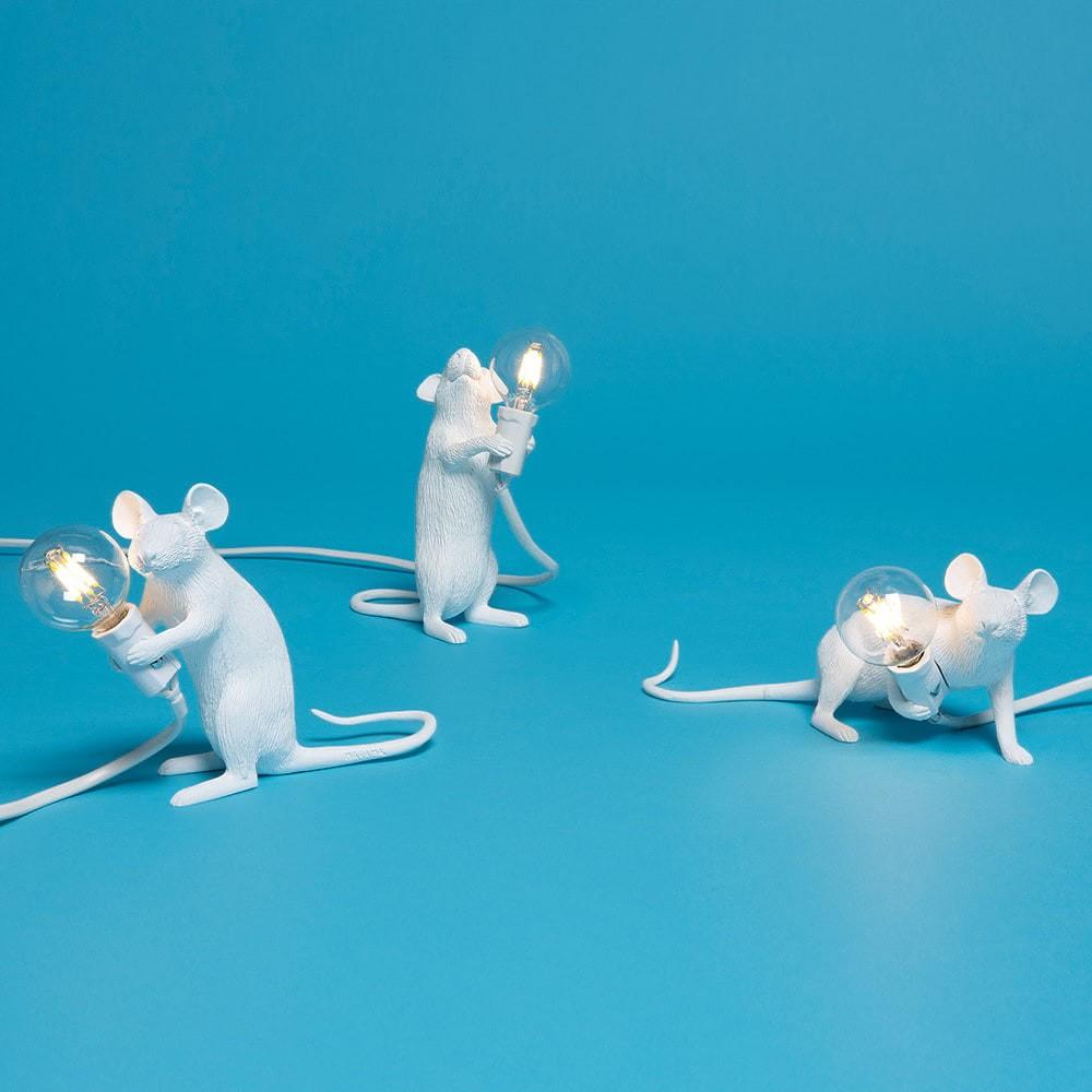 Mouse Lamp Lie Down   Seletti