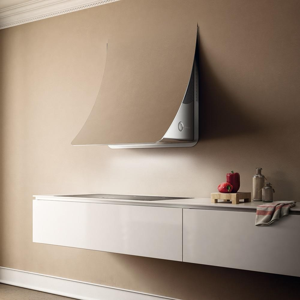 Nuage wall kitchen hood elica design is this - Elica cappe cucina ...