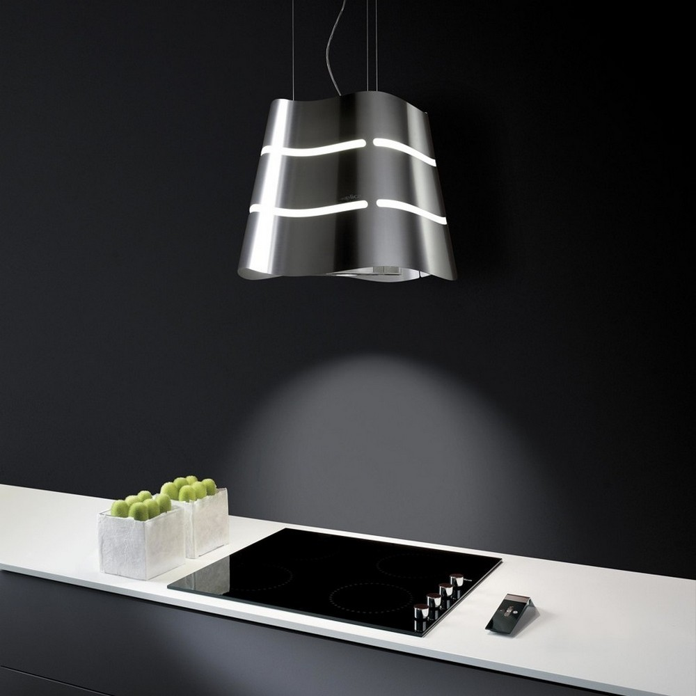 Wave Hanging Kitchen Hood Elica Design Is This