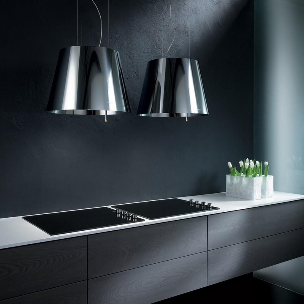 Platinum Hanging Wall Kitchen Hood Elica Design Is This