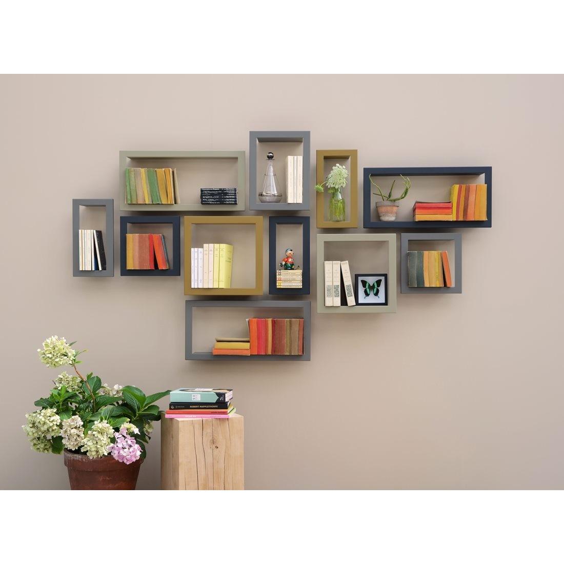 framed wall shelf highstick presse citron design is this. Black Bedroom Furniture Sets. Home Design Ideas