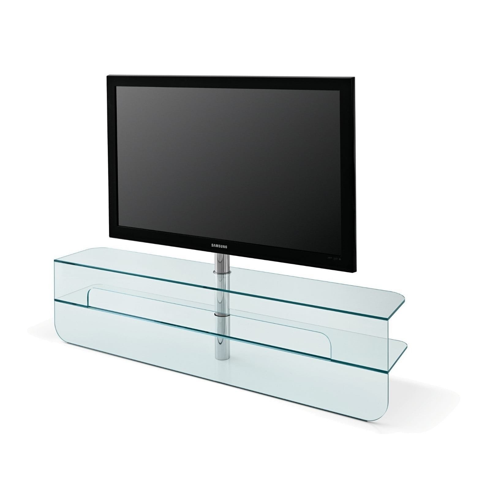 glass tv unit plasmatik by karim rashid design is this. Black Bedroom Furniture Sets. Home Design Ideas