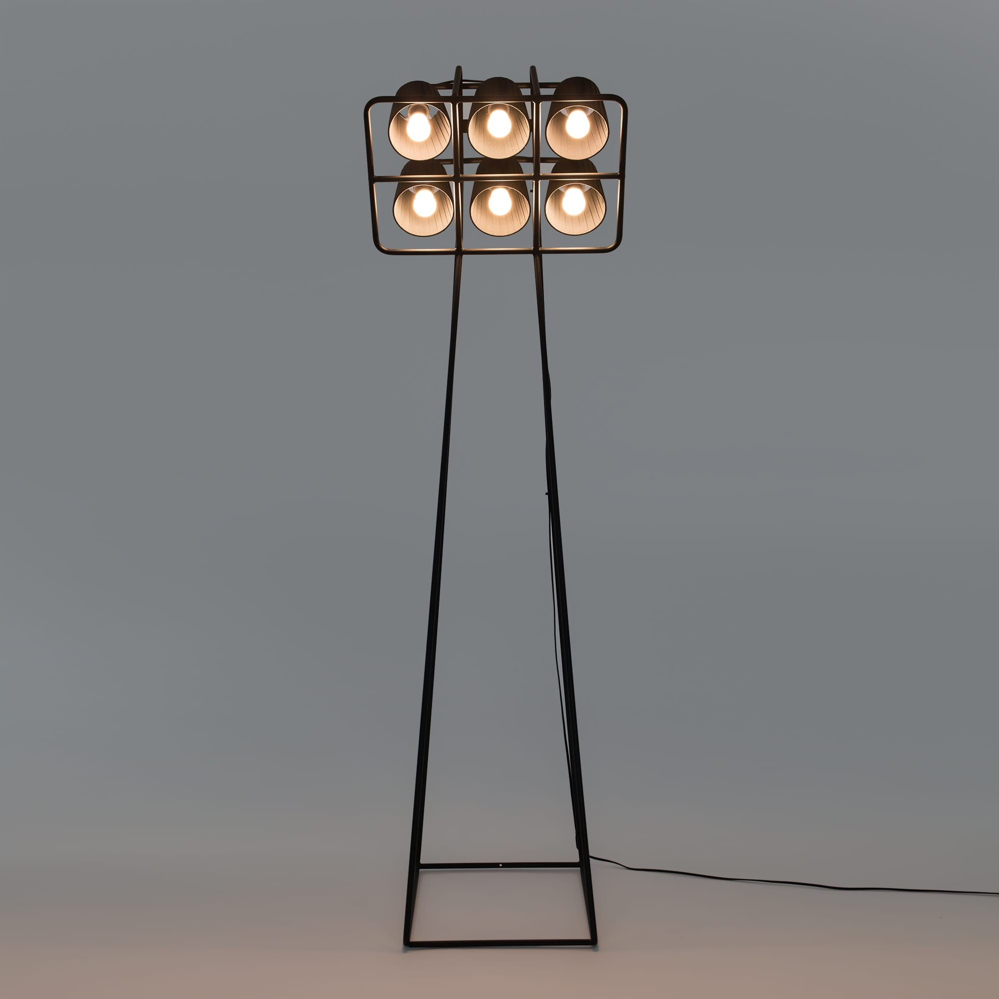 Multilamp football floor lamp seletti design is this multilamp football floor lamp black seletti mozeypictures Images