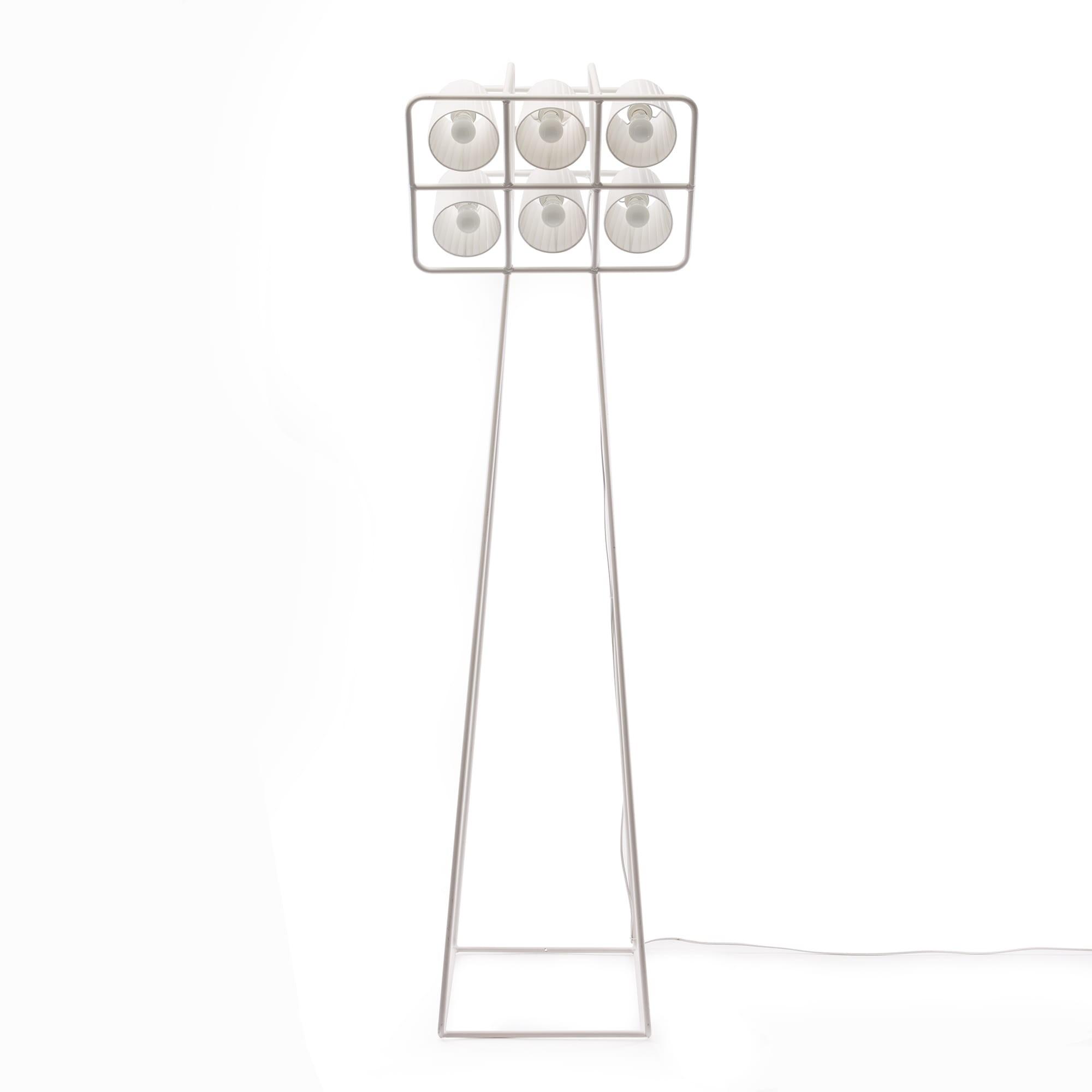 Multilamp Football Floor Lamp White Seletti