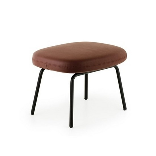 Era Leather Footstool (Metal) - Normann Copenhagen  sc 1 st  DesignIsThis Shop : leather foot stools - islam-shia.org