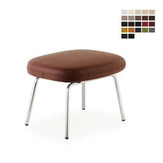 Era Leather Footstool (Metal) - Normann Copenhagen  sc 1 st  DesignIsThis & Era Leather Footstool (Metal) - Normann Copenhagen   Design Is This islam-shia.org