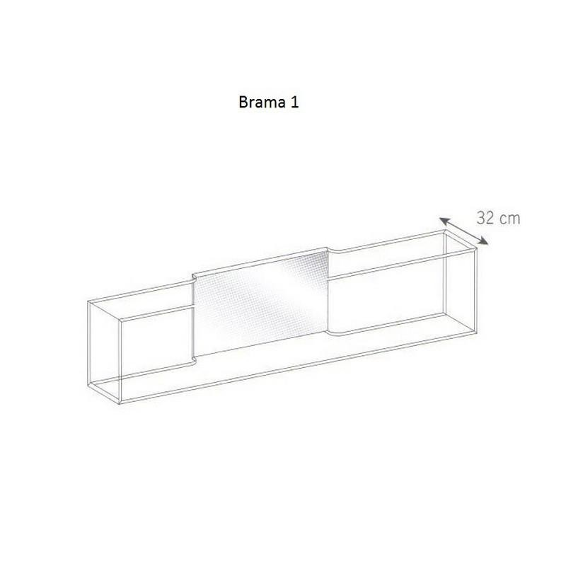 Brama 1 glass wall shelf tonelli design design is this brama 1 glass wall shelf tonelli design ccuart Image collections