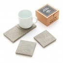 Athens Fragments Concrete Coasters (set of 4) - A Future Perfect