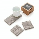 London Fragments Concrete Coasters (set of 4) - A Future Perfect