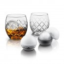 Hand-Etched On The Rock Glass 5 Piece Set - Final Touch