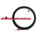 Perpetual Calendar Large (Black / Red) - MoMA