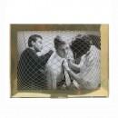 Raute Photo Frame (Brass / Large) - The Fundamental Group