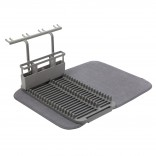 Udry Dishrack with Dry Mat (Charcoal) - Umbra