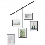 Εxhibit Multi Wall Photo Display (Black) - Umbra