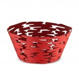 Barket Round Basket (Red) - Alessi