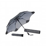 XS Metro Automatic Storm Umbrella (Houndstooth) - Blunt
