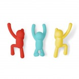 Buddy Hook Set of 3 (Multicolor) - Umbra